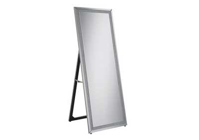 Image for Silver Standing Cheval Mirror