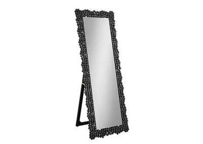 Image for Smoke Grey Cheval Mirror
