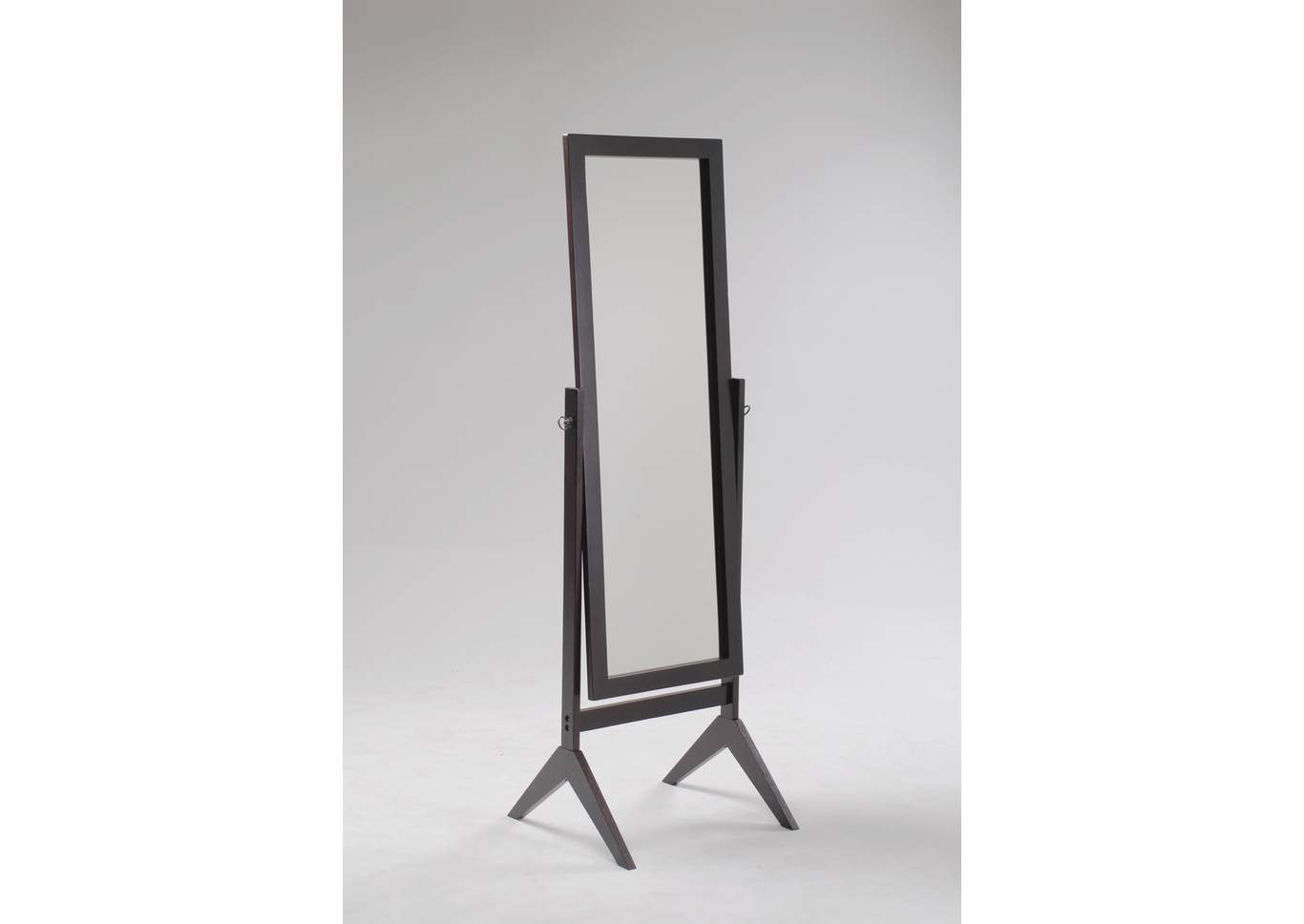 Espresso Cheval Mirror,Crown Mark