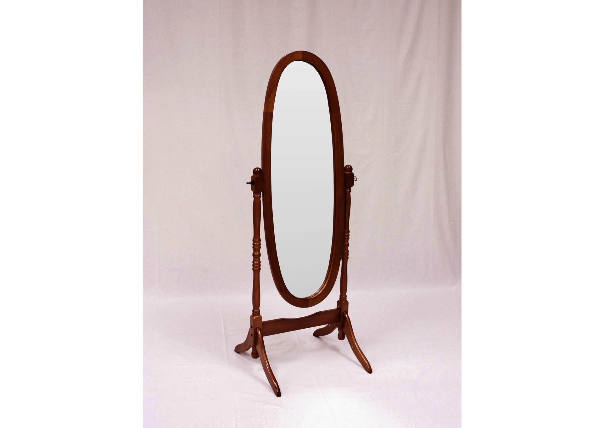 Cheval Mirror,Crown Mark