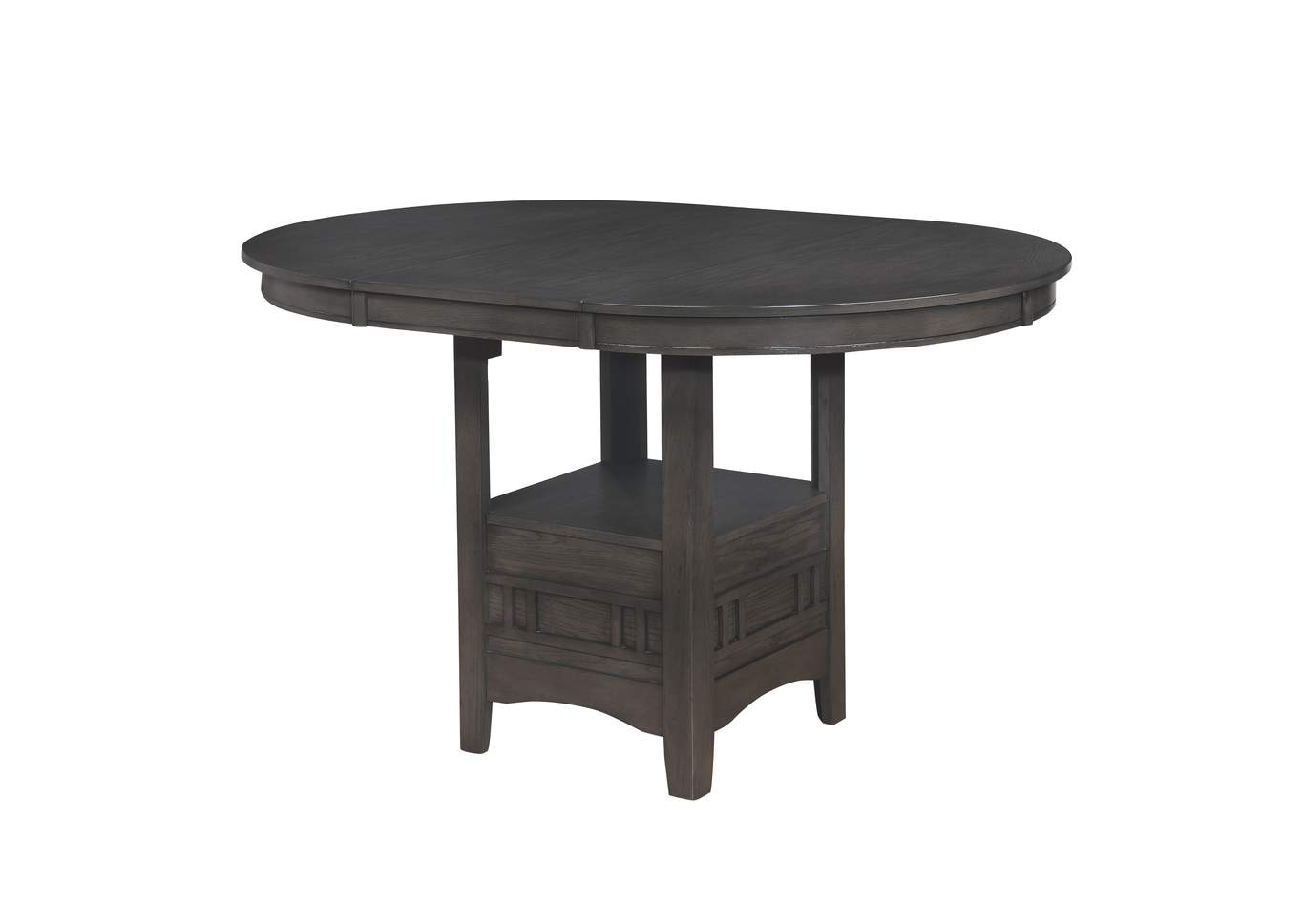 Hartwell Grey Counter Height Dining Table (1X18 L),Crown Mark