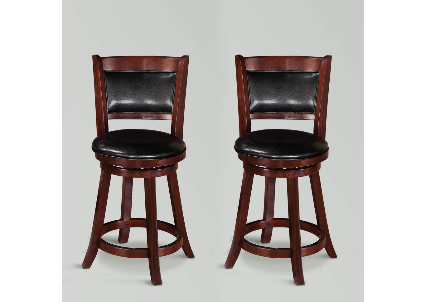 Cecil Swivel Pub Stool K/D,Crown Mark
