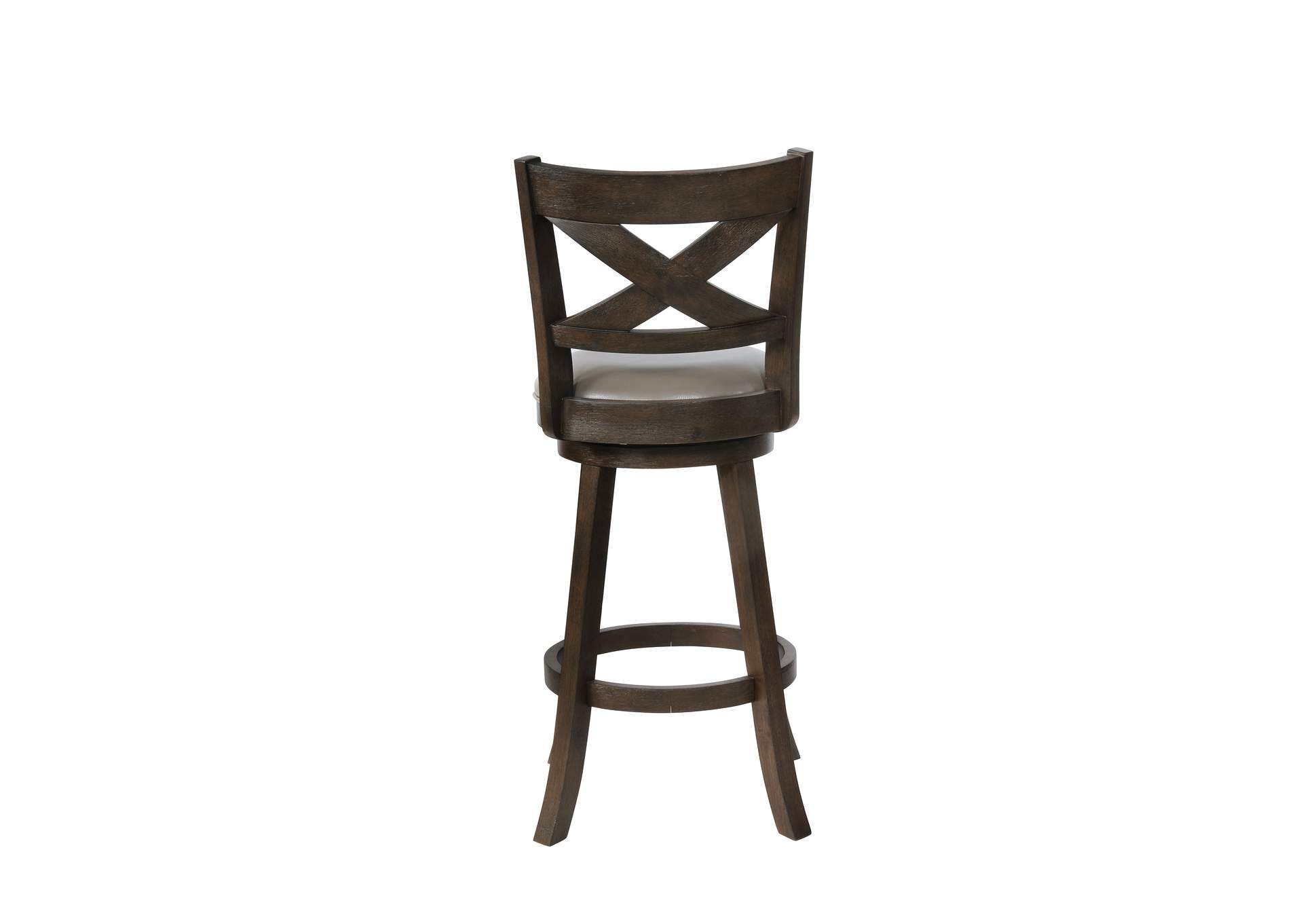 Kipper Grey Swivel Bar Stool K/D,Crown Mark
