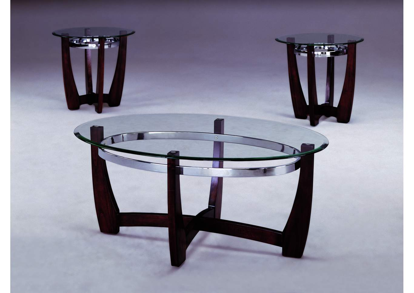 Mitchell Occasional Table Set (Cocktail & 2 Ends),Crown Mark