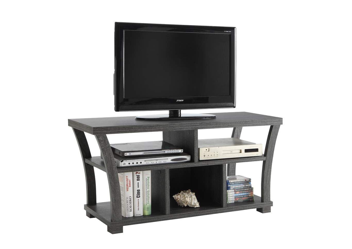 Draper Grey Tv Stand,Crown Mark