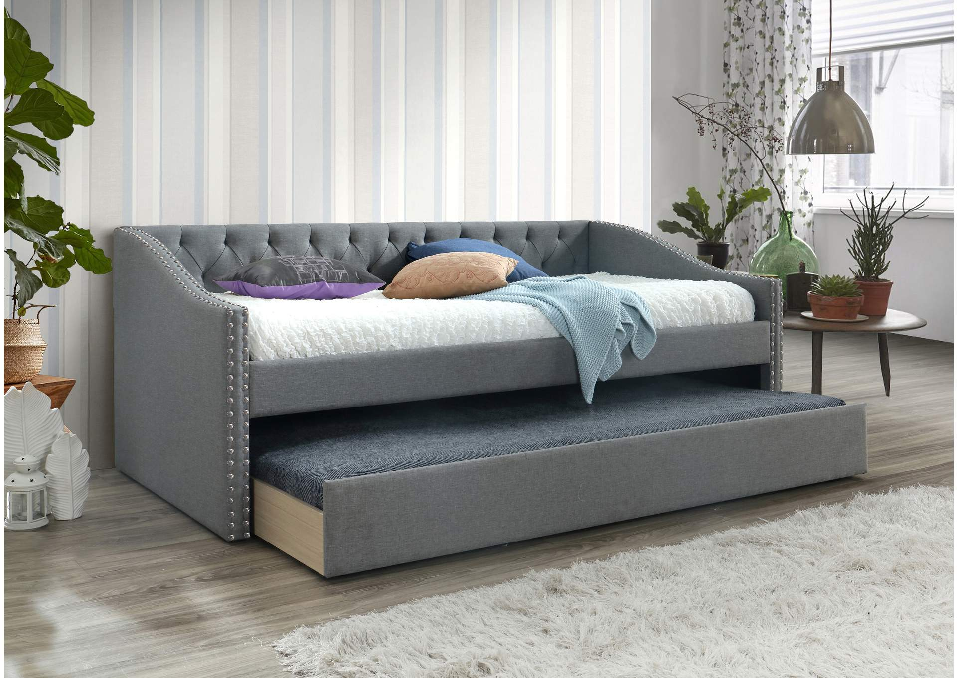 Loretta Gray Daybed,Crown Mark