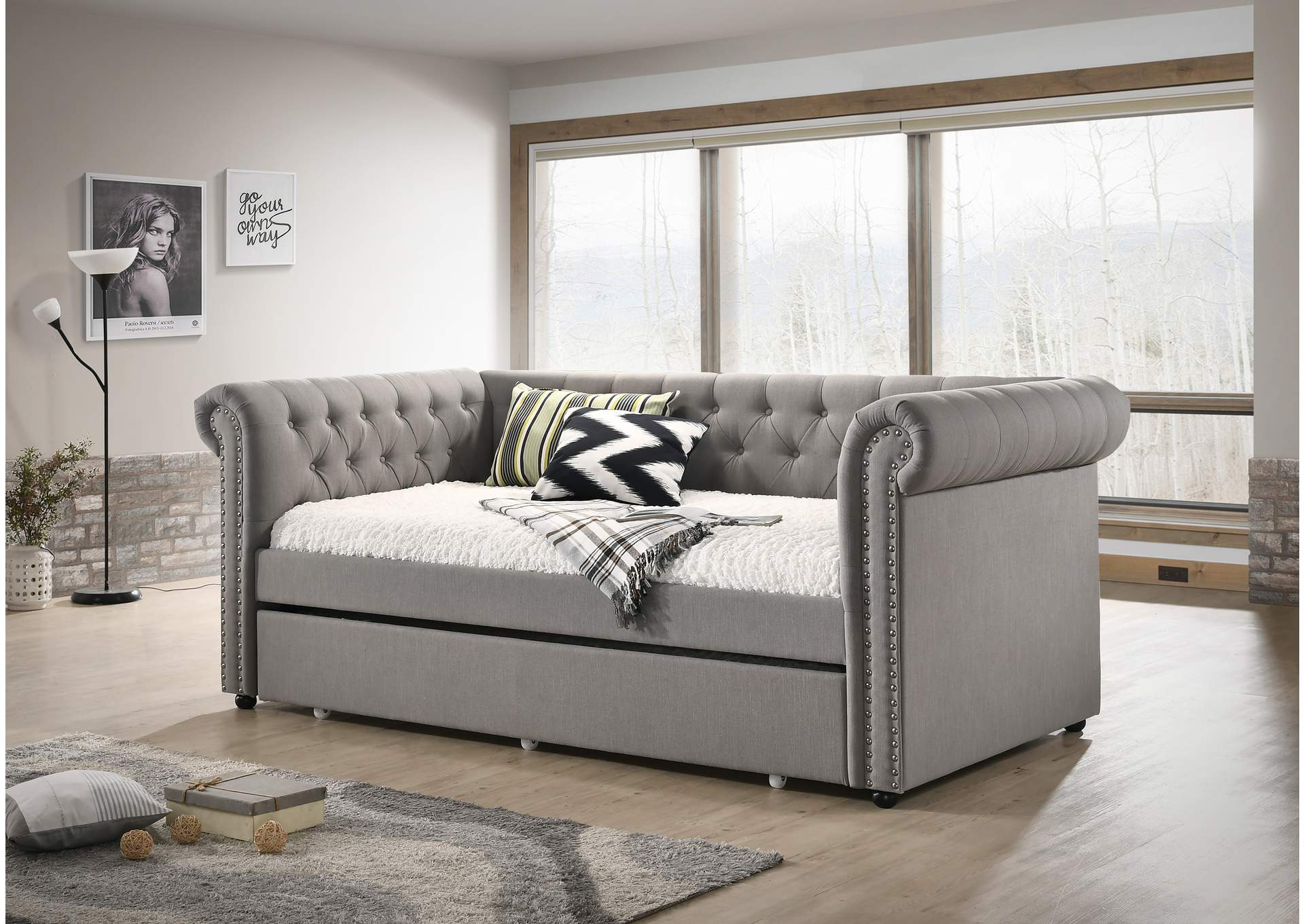 Ellie Dove Daybed,Crown Mark