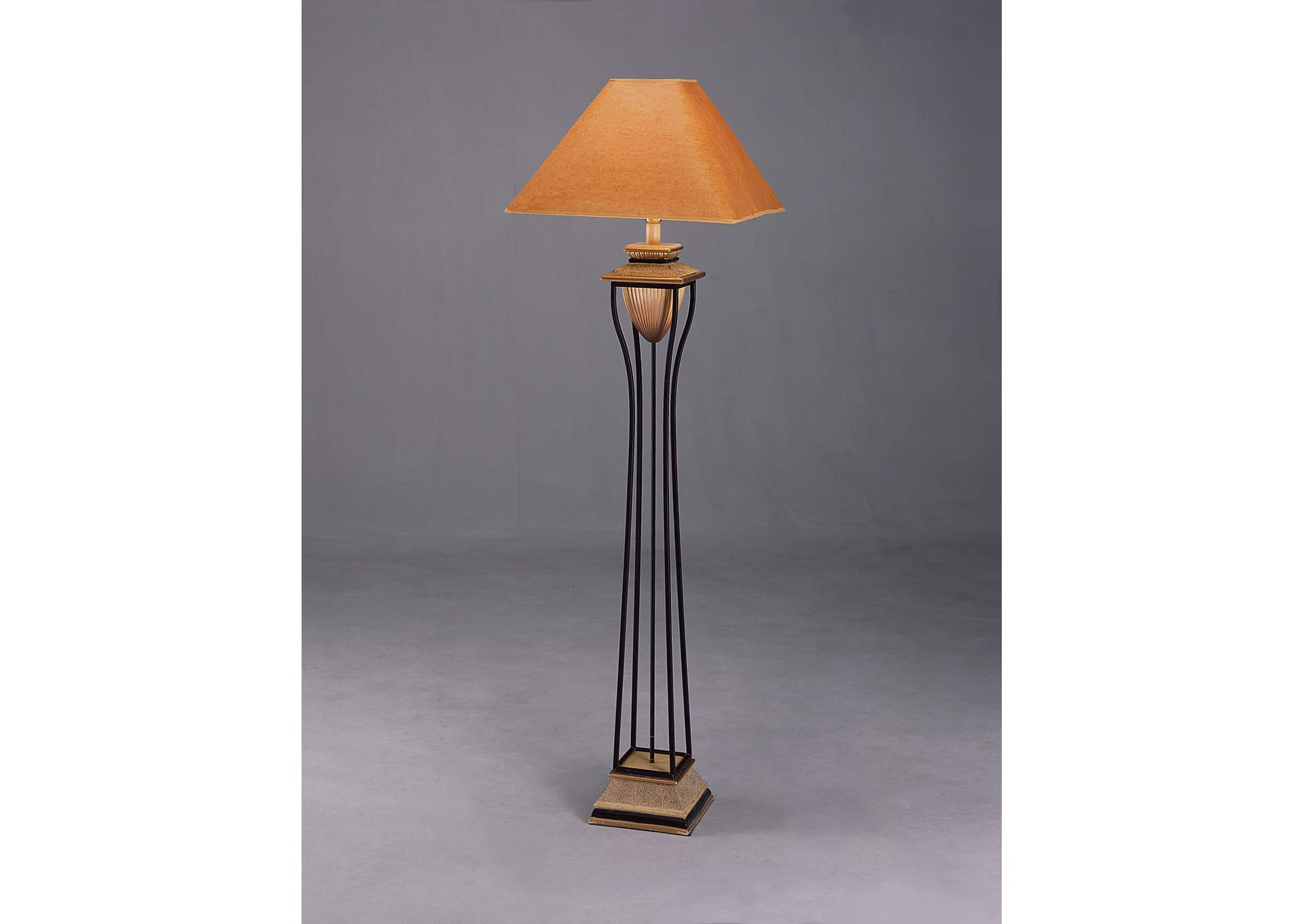 Chandelier Floor Lamp 62.5 H,Crown Mark