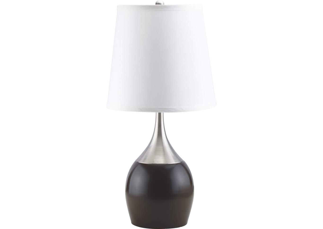 Espresso Table Touch Lamp,Crown Mark