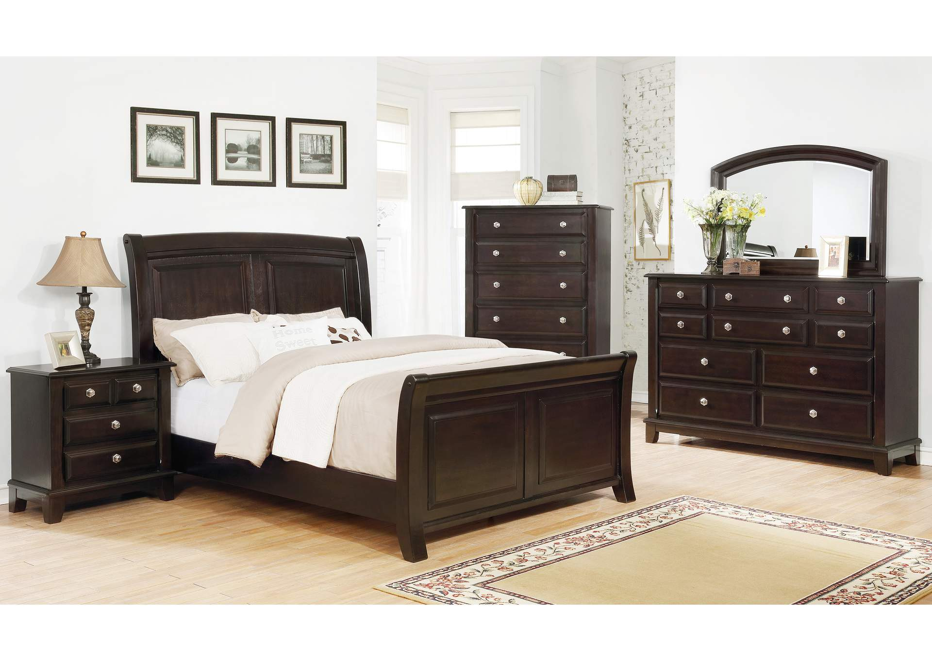 Kenton Dark Brown Dresser,Crown Mark