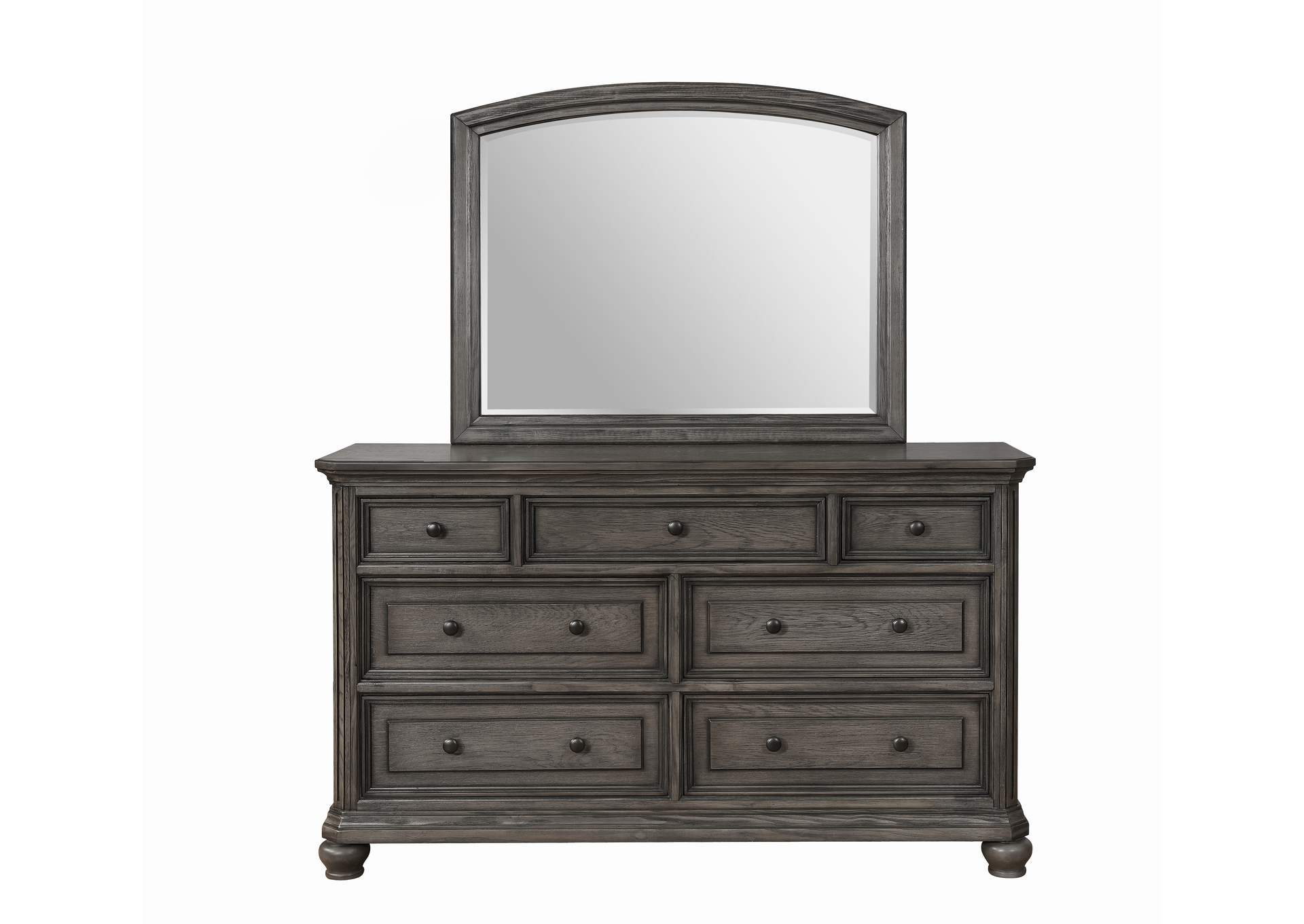 Lavonia Dark Grey Dresser,Crown Mark