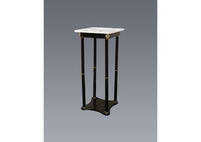 Image for White Square Marble Stand