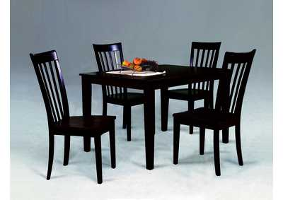 Image for Brody Espresso 5 Piece Dinette