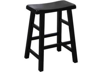 Image for Kirin Black 24 Saddle Stool