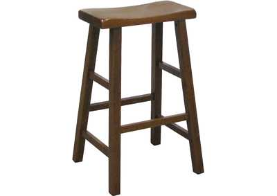 Image for Kirin Dark Oak 29 Saddle Stool