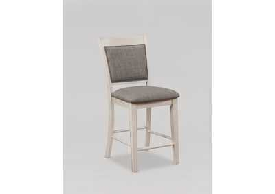 Image for Fulton White Counter Height Chair