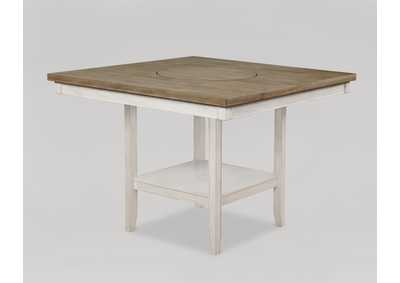 Image for Fulton White Counter Height Table