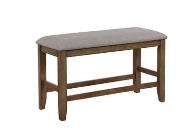 Manning Counter Height Bench,Crown Mark
