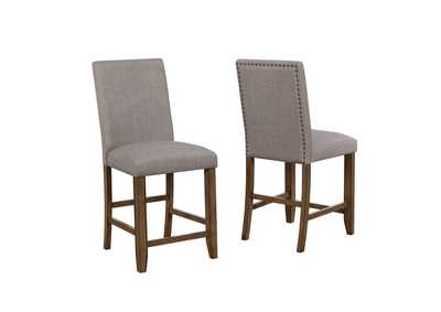 Manning Nailhead Counter Height Chair,Crown Mark