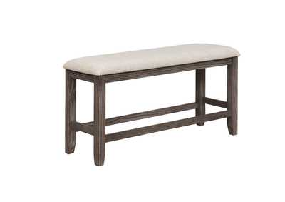 Regent Counter Height Bench,Crown Mark