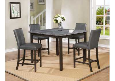 Pompei Grey Top Ct Height Table