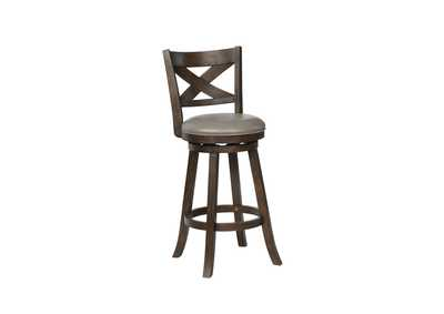 Kipper Grey Swivel Bar Stool K/D
