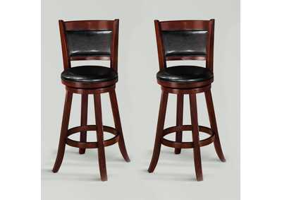Cecil Swivel Bar Stool K/D,Crown Mark