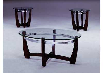 Image for Mitchell Occasional Table Set (Cocktail & 2 Ends)