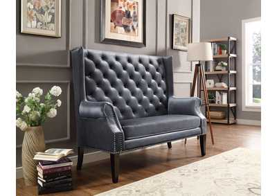 Image for Odina Grey Loveseat Chair