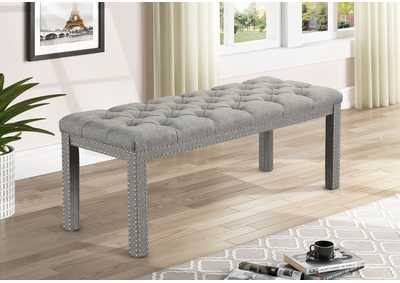 Image for Finley Light Grey Bench