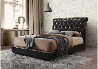 Image for Janine King Platform Bed W/Usb Pu