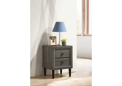 Image for Deandra Grey Night Stand