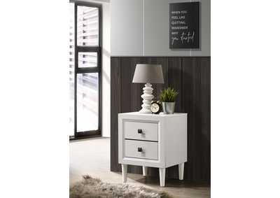 Image for Deandra White Night Stand