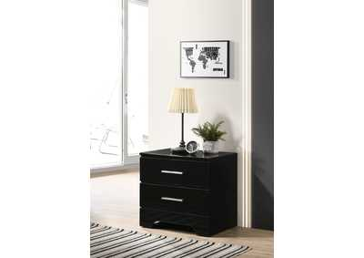 Image for Brooklyn Black Night Stand