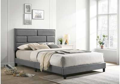 Image for Flannery Grey Twin Platform Bed