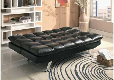 Image for Sundown Black Adjustable Sofa