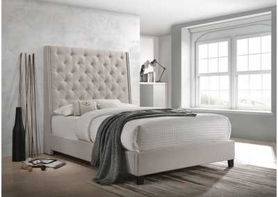 Image for Chantilly Khaki California King Bed