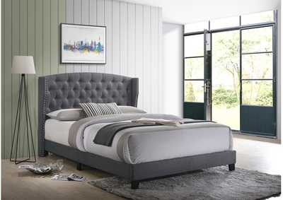 Image for Rosemary Grey Queen Platform Bed