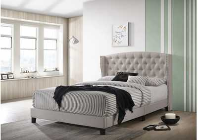 Image for Rosemary Full Platform Bed Khaki
