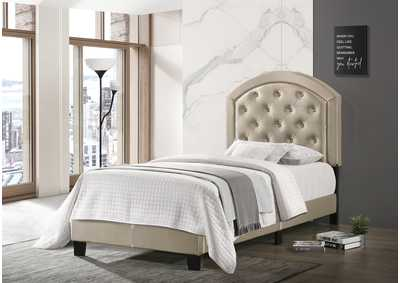 Image for Gaby Twin Platform Bed W/ Adjustable Headboard