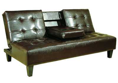 Image for Bennett Espresso Adjustable Sofa