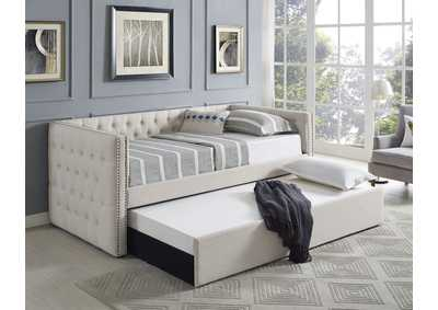 Image for Trina Ivory Upholstered Daybed