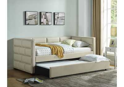 Image for Flannery Ivory Daybed Arm(L & R) Slat