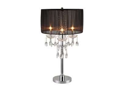 Chandelier Table Touch Lamp 29.5 H,Crown Mark