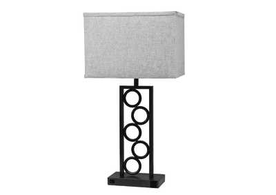Image for StaCalifornia King Circle Lamp With Outlet