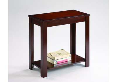 Pierce Chairside Table,Crown Mark