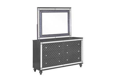 Image for Refino Stainless Steel/Black Dresser