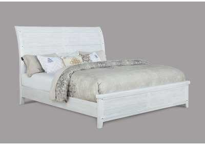 Image for Maybelle White Sleigh California King Bed