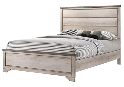 Image for Patterson White Full Panel Bed