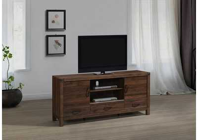 Image for Belmont Black/Brown Tv Stand With Drawers